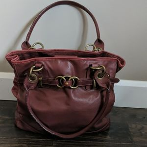 """""""Wilsons Leather"""" Red Bag"""